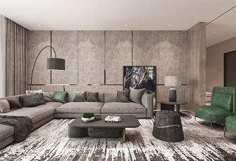 超现代简约风格260m²大平层室内设计