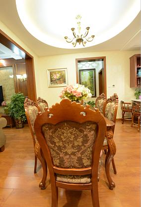 水墨嘉苑120平米经典美式风格装修厨房美式经典设计图片赏析