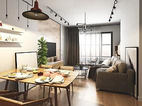 63㎡两人三猫,90后在深圳的第一套房厨房现代简约设计图片赏析