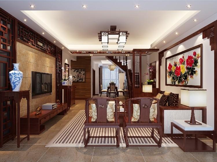 220㎡新中式風格 復式樓