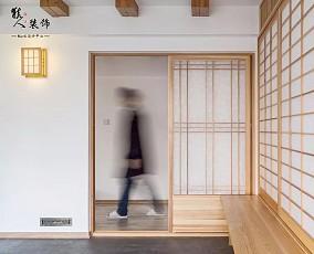 220平原木色大宅这是我见过最美猫舍功能区2图日式设计图片赏析