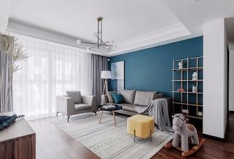 一抹微蓝、半米阳光,双宝精装之家