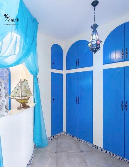 70平蓝白地中海二室在家遐想爱琴海功能区