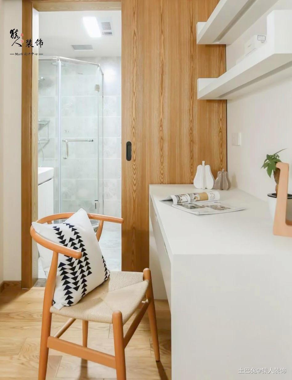 客厅三隐形门136平现代混搭三居卧室潮流混搭卧室设计图片赏析
