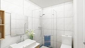 85平方的简美低调住宅卫生间欧式豪华设计图片赏析