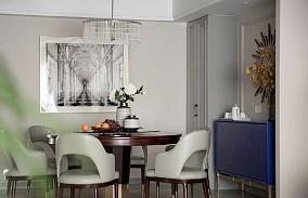 180㎡新美式风大宅,沉静而柔和厨房1图美式田园设计图片赏析