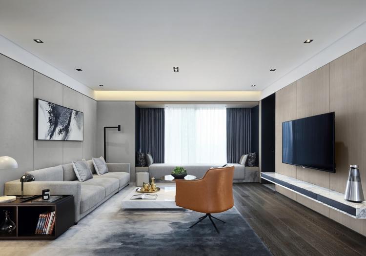 170平方现代简约风格装饰大平层
