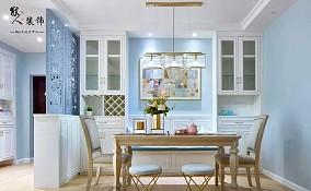 140㎡美式三居,细节处彰显出的高雅!厨房2图美式经典设计图片赏析