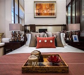 133m²新中式轻奢卧室中式现代设计图片赏析