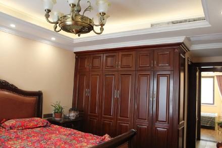 140平经典美式风,豪华大气卧室
