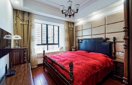 简单设计,却散发着不平凡的品味!卧室