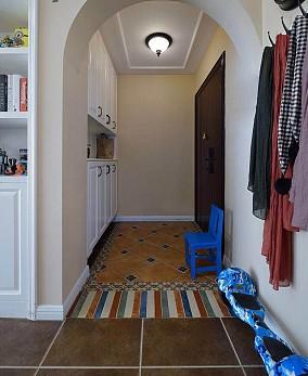 126平三居室浪漫的地中海风玄关2图地中海设计图片赏析