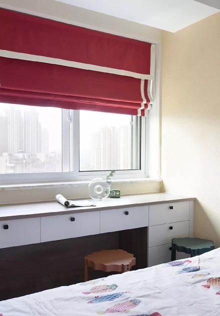 89㎡舒适北欧,高颜值拼色墙简单又时髦!卧室