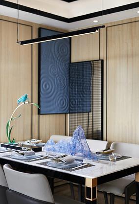 154㎡简雅中式,演绎醉美的现代东方厨房中式现代设计图片赏析