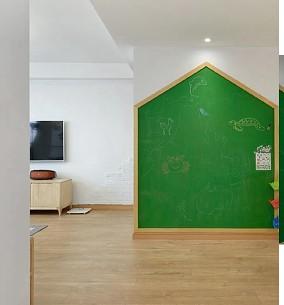 原木日式风给孩子一个自然的成长空间卧室日式设计图片赏析
