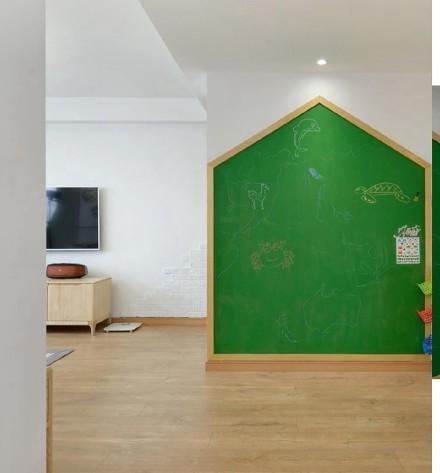 原木日式风给孩子一个自然的成长空间卧室