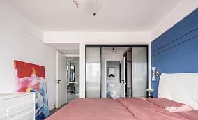 85平米,北欧风格卧室1图北欧极简设计图片赏析