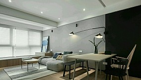 92平两室一厅北欧极简家装15195058