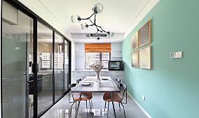 115平米,现代风格厨房2图现代简约设计图片赏析