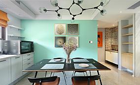 115平米,现代风格厨房1图现代简约设计图片赏析