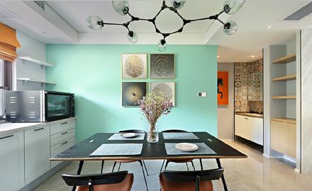 115平米,现代风格厨房