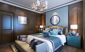 合·序 对称太美卧室中式现代设计图片赏析