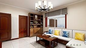 100m²的新中式三居,设计带来的幸福感15225953