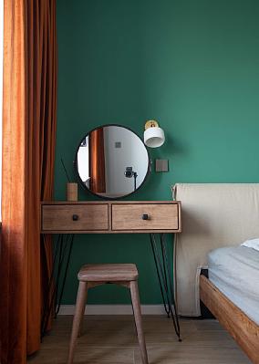 70平米北欧风,家就该这样温馨甜蜜卧室北欧极简设计图片赏析
