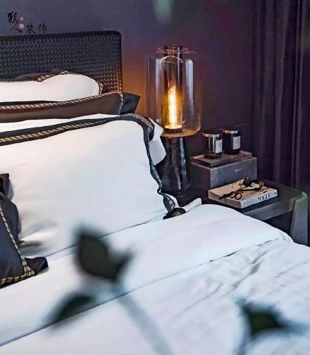 284㎡现代风别墅,朴素的艺术卧室