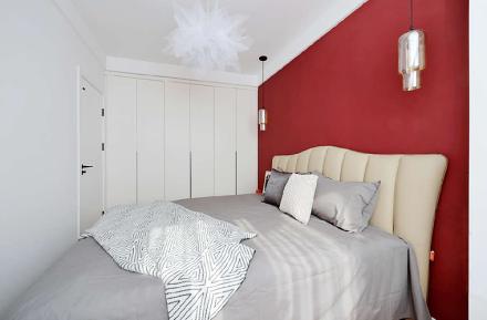 5万块打造45平米北欧极简风卧室