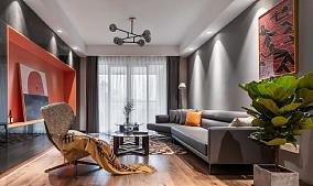 100平米的北欧现代,简直恰到好处客厅2图北欧极简设计图片赏析