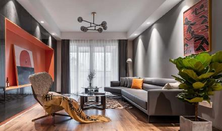 100平米的北欧现代,简直恰到好处客厅2图