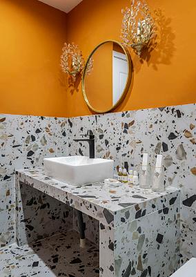 63平米两居室,与众不同的家卫生间1图北欧极简设计图片赏析
