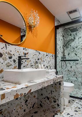 63平米两居室,与众不同的家卫生间2图北欧极简设计图片赏析