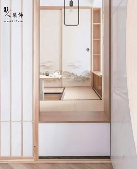 70㎡日式简洁,安静自然好文雅功能区日式设计图片赏析