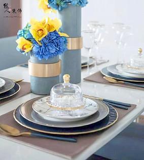 100㎡新中式,点缀出华丽的气质厨房中式现代设计图片赏析