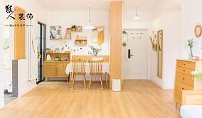 150㎡日式,简单木质感,原始的自然厨房2图潮流混搭设计图片赏析