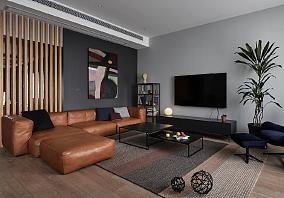 胡桃木色+中性灰,創造現代都市品質空間15320382