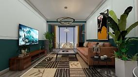 70m² 二居室,客厅简直惊艳一个家15315207