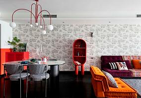 要一定要用一种颜色来形容业主,就是红厨房3图现代简约设计图片赏析