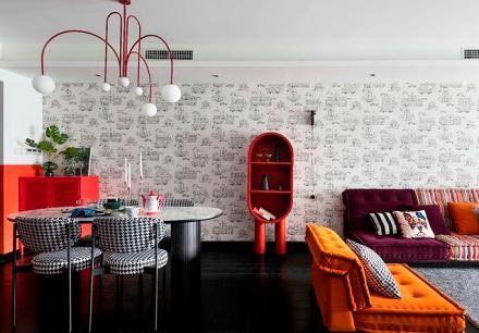 要一定要用一种颜色来形容业主,就是红厨房3图