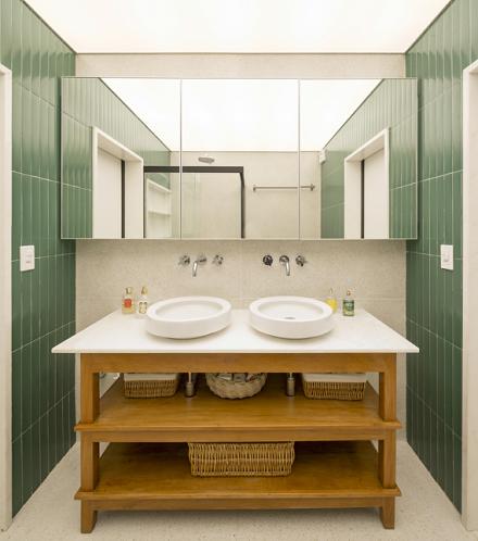 多元素融合之家120m²潮流混搭卫生间