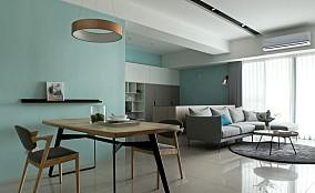 现代风格,80㎡两居厨房现代简约设计图片赏析