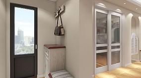 美式风格三居室,创造美好的家玄关美式田园设计图片赏析