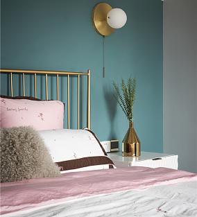 130平米打造舒适北欧风卧室北欧极简设计图片赏析