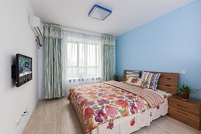 地中海,最节省的成本打造实景卧室1图地中海设计图片赏析