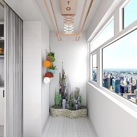 75平米大一居室的现代简约风,让家更温暖阳台中式现代设计图片赏析