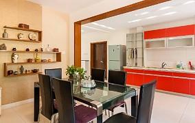 220平复式欧式简约装修厨房欧式豪华设计图片赏析