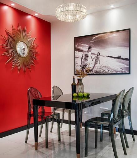 67平米现代风格,餐厅简直惊艳一个家!厨房2图
