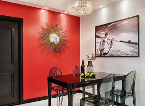 67平米现代风格,餐厅简直惊艳一个家!厨房1图现代简约设计图片赏析